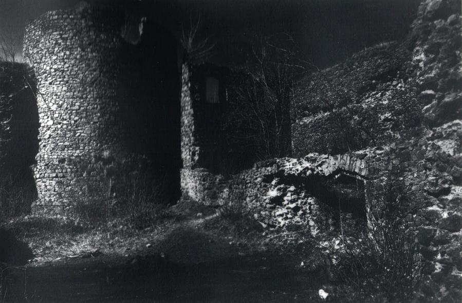Odbitka pigmentowa wykonana w oparciu o negatyw drukowany na folii. Pierwotnie zdjęcie powstało jako plik cyfrowy. Fot. Radosław Brzozowski
