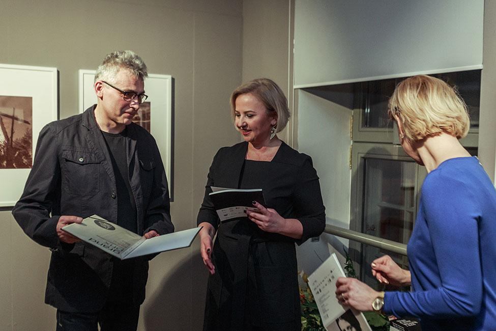 Wręczenie Grand Prix. Wernisaż wystawy Then & Now 2018. Fot. Rafał Malko