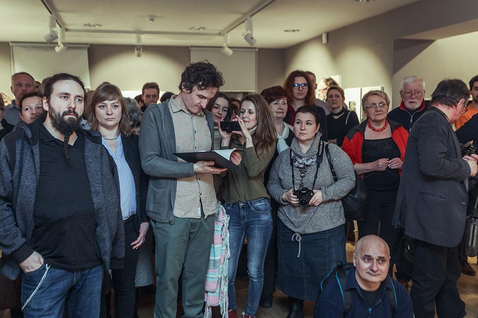 Wernisaż wystawy Then & Now 2018. Fot. Rafał Malko